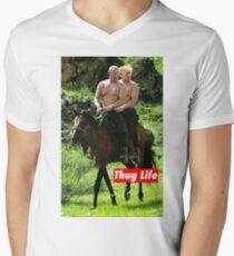 Thug Life Men's V-Neck T-Shirt