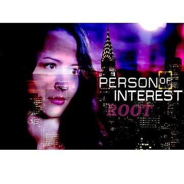 Person of Interest Root by TeamMachineShaw