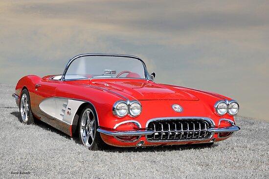 1958 Corvette Roadster I by DaveKoontz