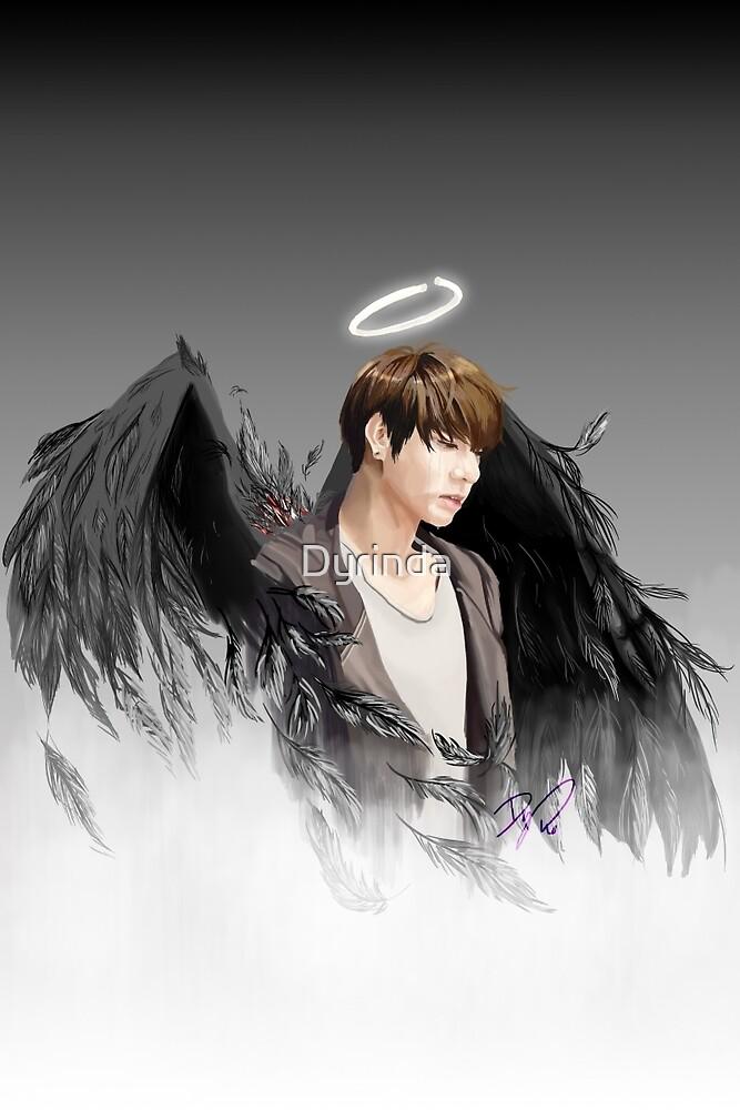 [BTS] Fallen Angel Jungkook - No Wound by Dyrinda