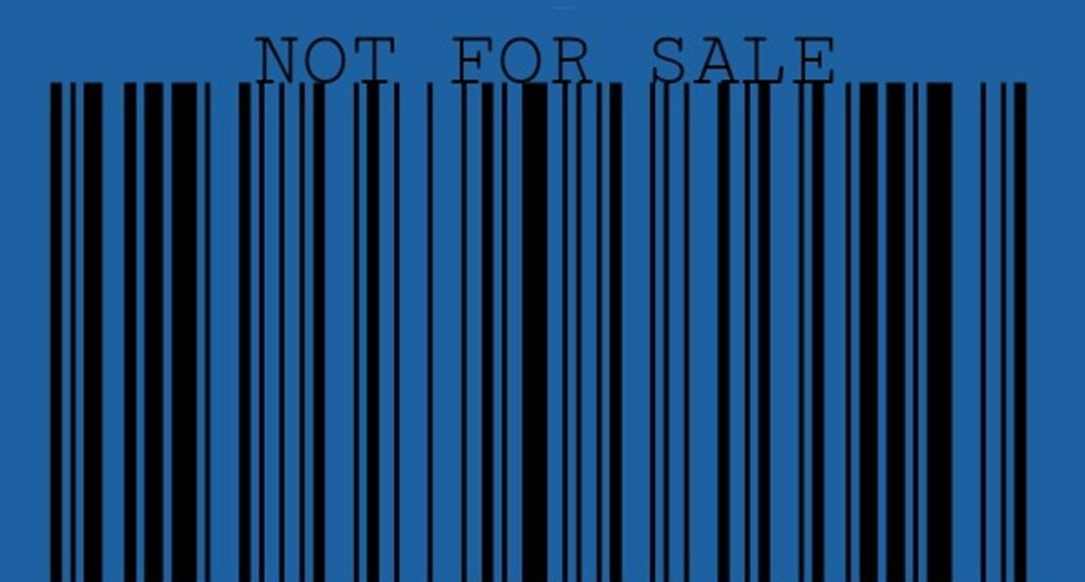 Not For Sale Barcode by Nicki harvey