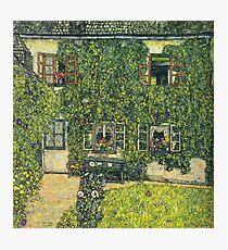 Gustav Klimt - The House Of Guardaboschi 1912 Photographic Print