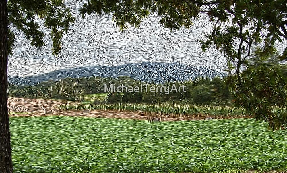 The Wrekin, Shropshire by MichaelTerryArt