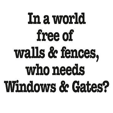 Windows & Gates by T-Nours