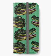 Croc iPhone Wallet/Case/Skin