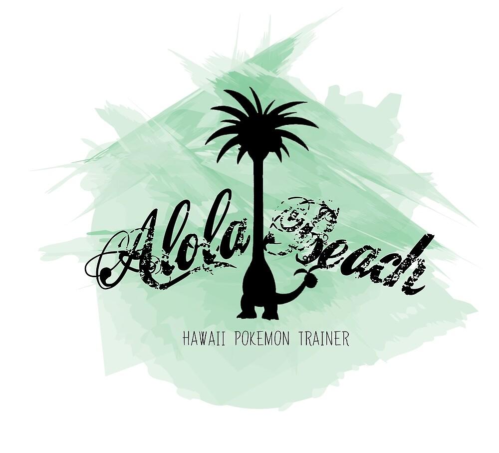Alola Beach by ElderStrikers