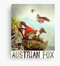 Austrian Fox Metal Print