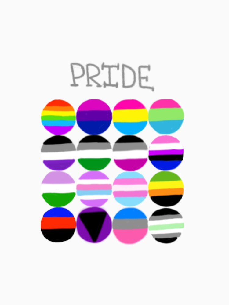 Pride Flags Circles by cduby