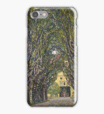 Gustav Klimt - Walk In The Park Of Castle Chamber, 1912 Detal iPhone Case/Skin
