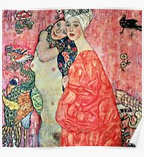 Gustav Klimt - Women Friends  Poster