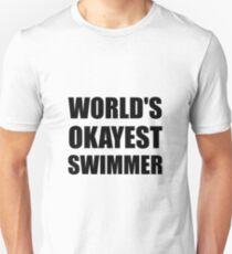 Der beste Schwimmer der Welt Unisex T-Shirt