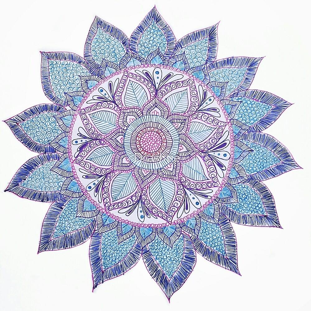 Mandala magic by Drashtie