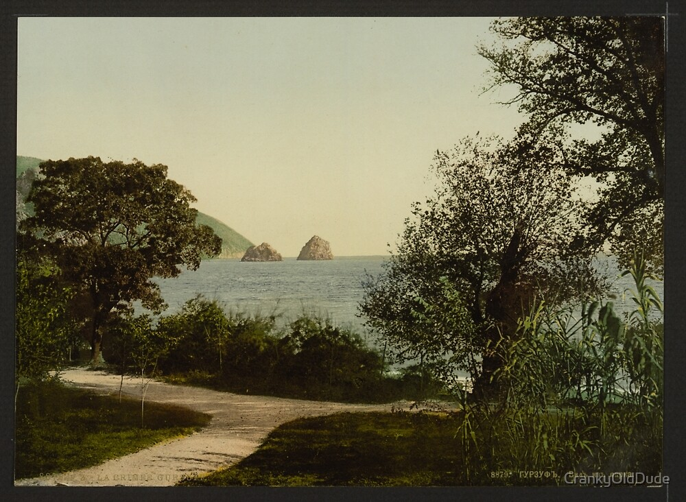 Gursuff from the Park - the Crimea Russia - 1890 by CrankyOldDude