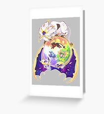 Pokemon Sun and Moon Greeting Card