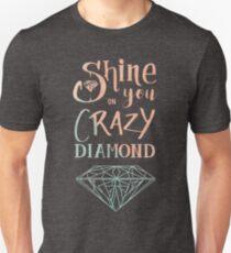 Camiseta unisex Brilla en ti loco diamante - Acuarela