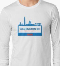 Washington DC Capital Shirt Long Sleeve T-Shirt