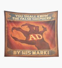 BioShock Infinite – You Shall Know the False Shepherd by His Mark! Poster Wall Tapestry