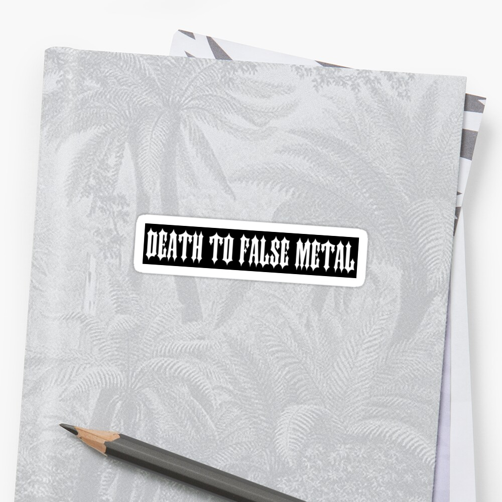 Death to False Metal by gutterist