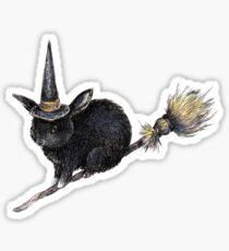 Flight of the Witch Bunnies Sticker