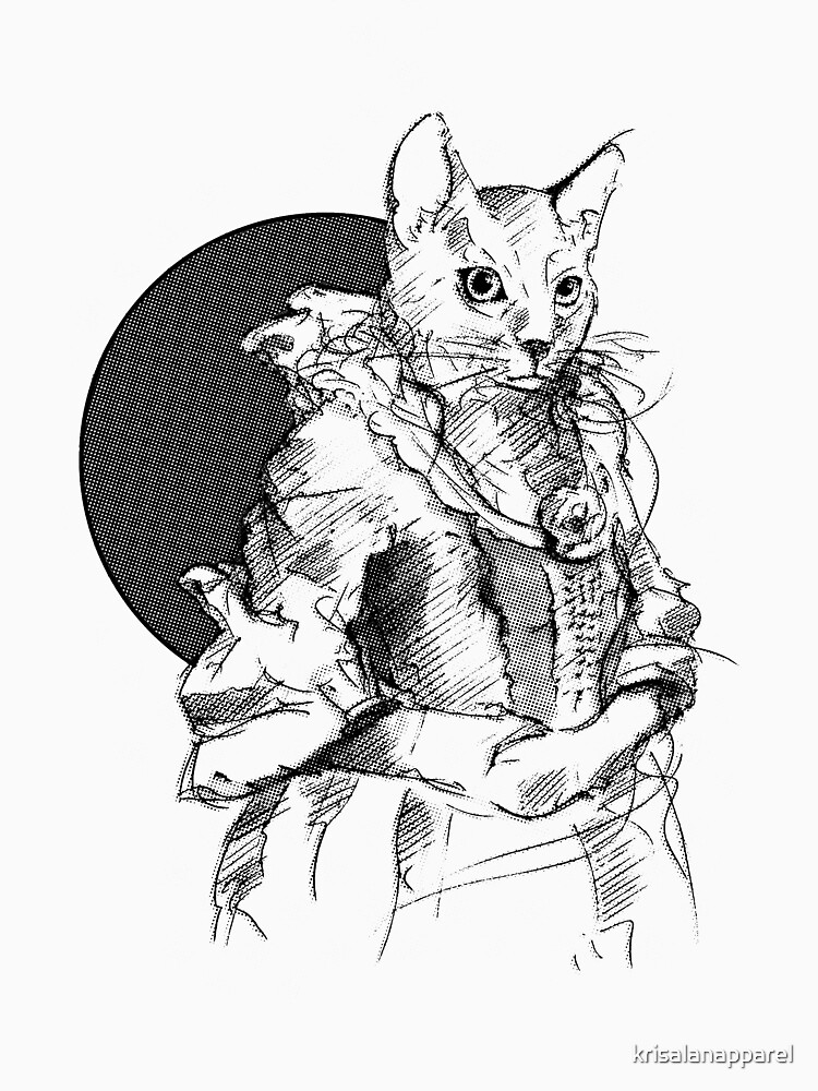 Victorian Cat by krisalanapparel