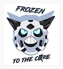 Frozen to the Core Photographic Print