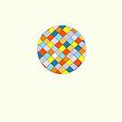 Coloured Squares. by godtomanydevils