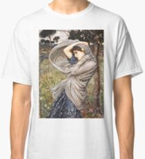 John William Waterhouse - Boreas  Classic T-Shirt