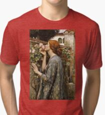 John William Waterhouse - The Soul Of The Rose  Tri-blend T-Shirt
