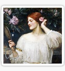 John William Waterhouse - Vanity  Sticker