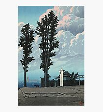 Kawase Hasui - Kanda Myojin Shrine After The Earthquake Fire Photographic Print