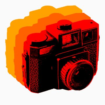 Holga Square T-Shirt by aztechnician