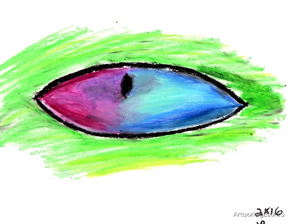 Eye Drawing 5 by ArtworkbyLauraG