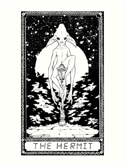 Sci Fi Tarot Card by Cottonwisp
