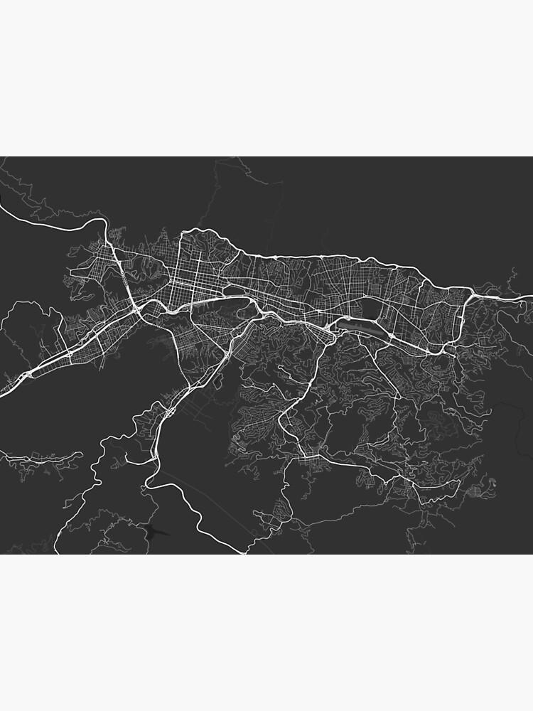 Caracas Map on