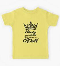 BBC Sherlock - Honey You Should See Me In A Crown Kids Tee