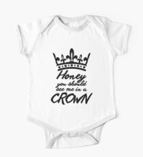 BBC Sherlock - Honey You Should See Me In A Crown One Piece - Short Sleeve