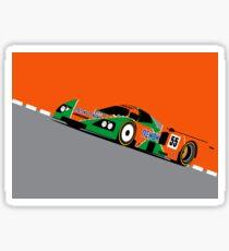 Mazda 787 Sticker
