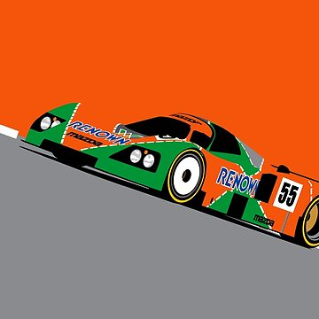Mazda 787 by RLineDesigns