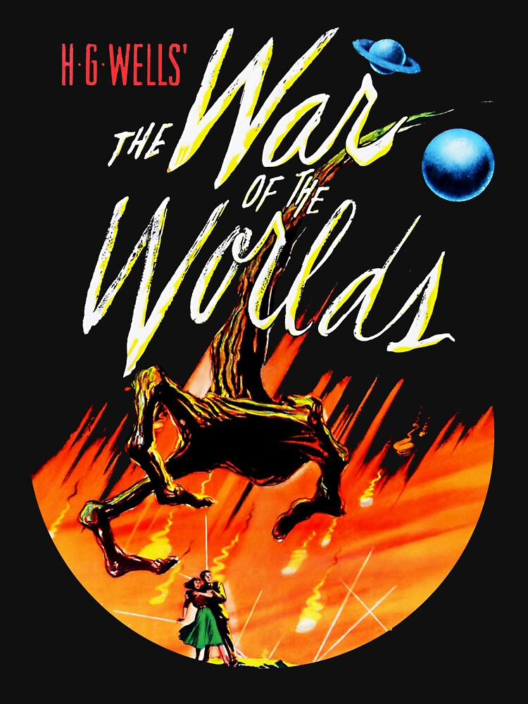 War of the Worlds T-shirt! by comastar