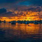Sun Set,Bermuda. by buddybetsy