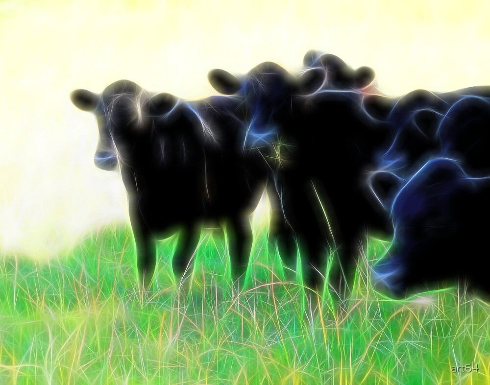 Electric Cows by art64
