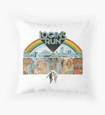 Logan's run Throw Pillow