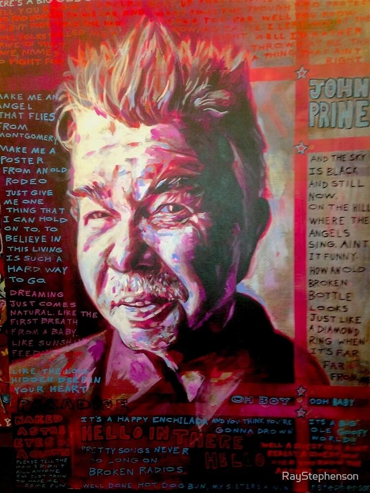 John Prine by RayStephenson