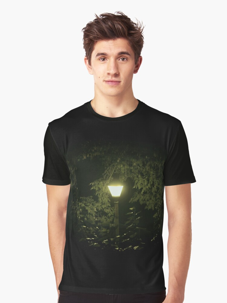 Light Up the Night Graphic T-Shirt Front