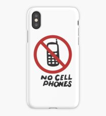 Luke's Diner No Cell Phones t-shirt - Gilmore Girls, Stars Hollow, Rory, Lorelai, The WB iPhone Case