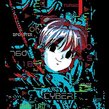 Machine Girl Neo by dataerase