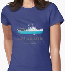 The Life Aquatic with Steve Zissou Women's Fitted T-Shirt