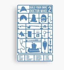 Build Your Own Doctor Who 2 Canvas Print