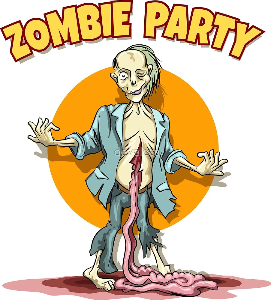 Zombie Party  by devaleta