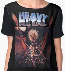 Heavy Metal Movie Women's Chiffon Top